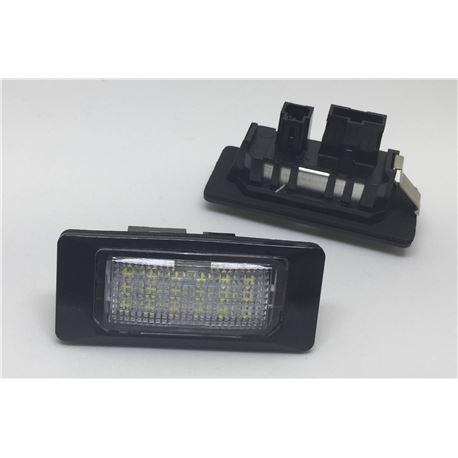 Plafones led especificos audi/vw can bus