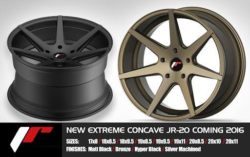 JUEGO DE LLANTAS JAPAN RACING JR20 8.5 + 10 X20 5X120
