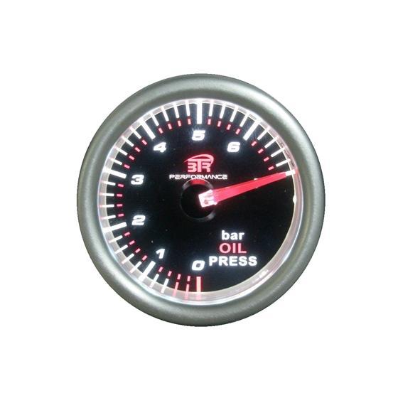 ACT-RELOJ320 Reloj de medición de la presión del aceite BTR negro