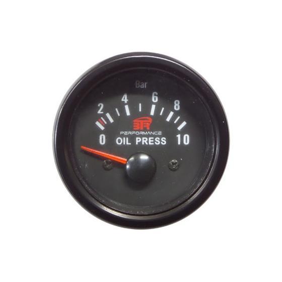 ACT-RELOJ420 Reloj de medición de la presión del aceite BTR negro