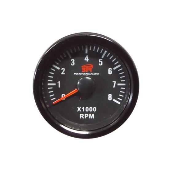ACT-RELOJ470 Reloj tacómetro gasolina BTR negro